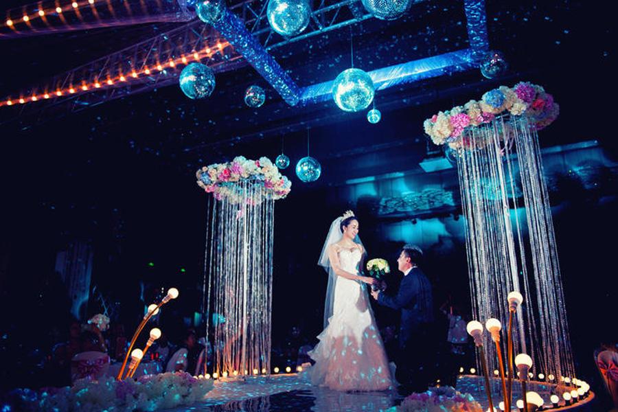 结婚现场当天