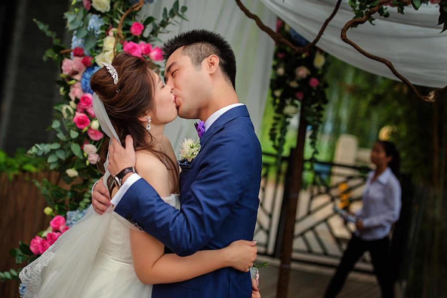 婚礼现场摄影