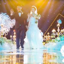 浪漫婚礼现场布置图片参考