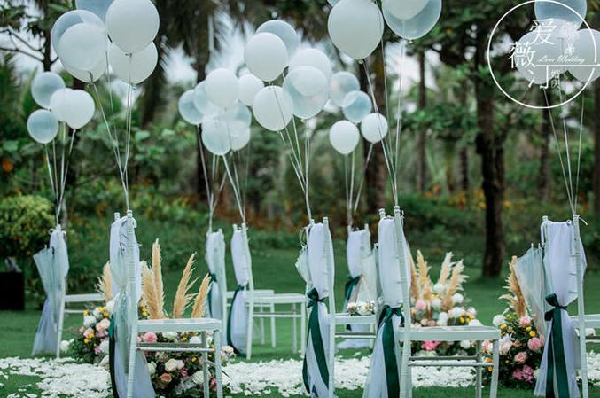 户外婚礼气球路引2