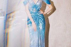 新娘穿鱼尾婚纱配什么发型好看