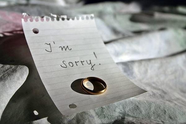 跟男朋友道歉的信