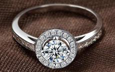 求婚一般用什么戒指?