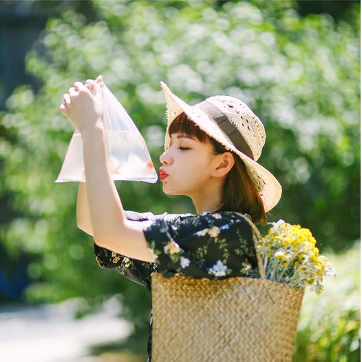 女生日系清新写真