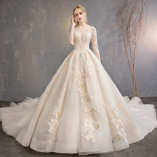 2020新娘服装图片大全