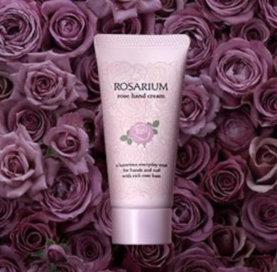 资生堂Rosarium玫瑰园药用护手霜