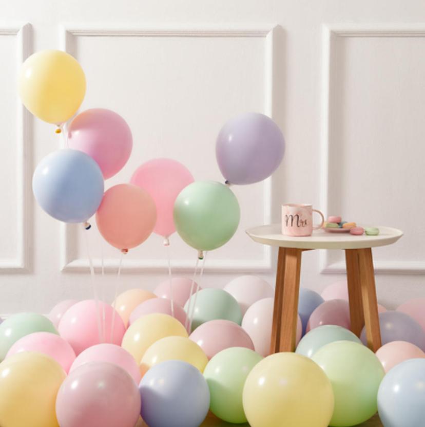 马卡龙气球