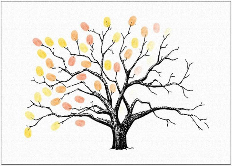 指纹签到树