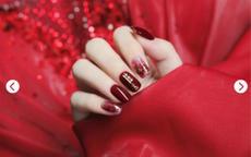 红色美甲图片 最好看的红色美甲大全