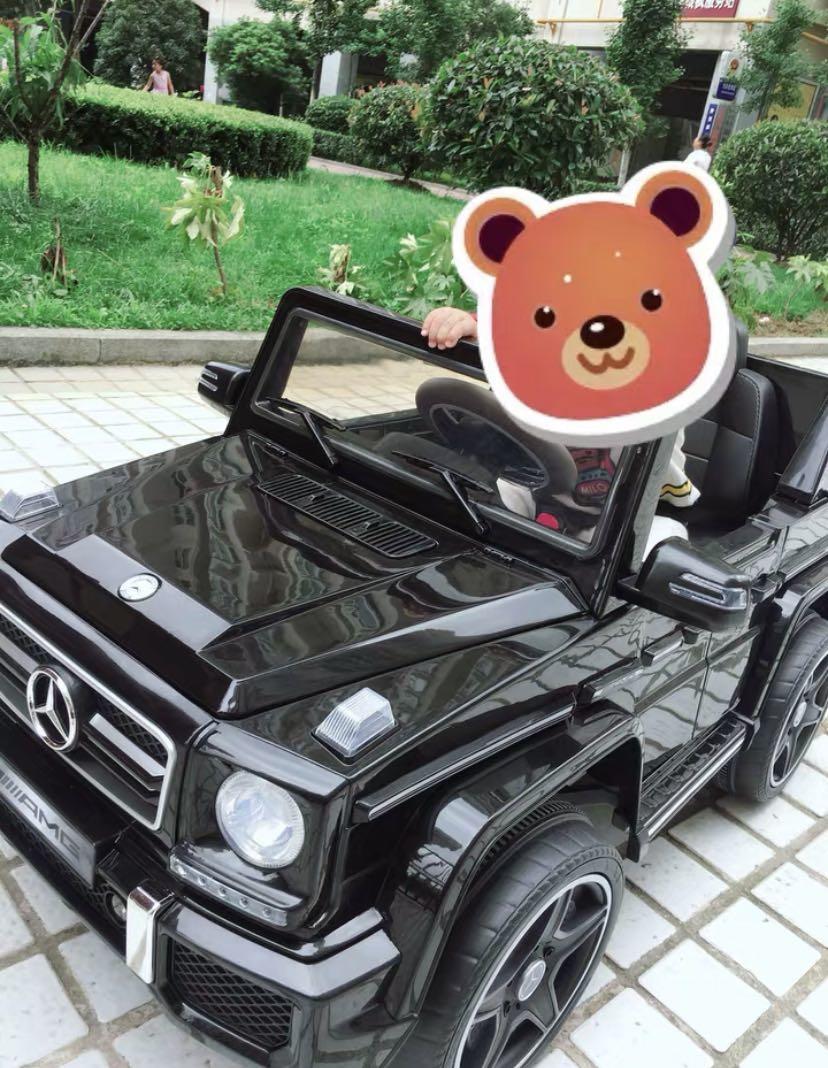 贝瑞佳奔驰G63儿童汽车