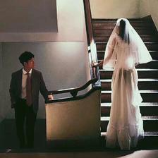 婚纱情侣头像双人20组
