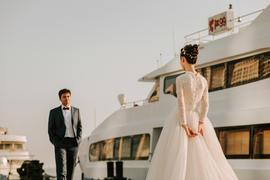 渔舟唱晚,海上婚礼
