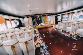 热带雨林游轮婚礼