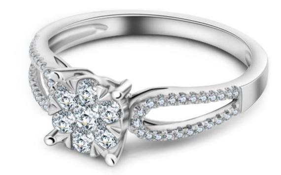 18k金钻石戒指是什么意思