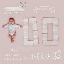 宝宝百日照图片 22张创意拍照姿势分享