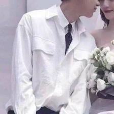 情侣结婚婚纱头像