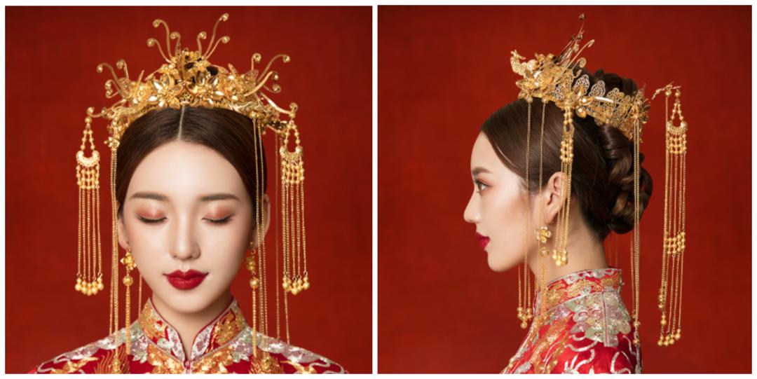 金色年华中式头饰