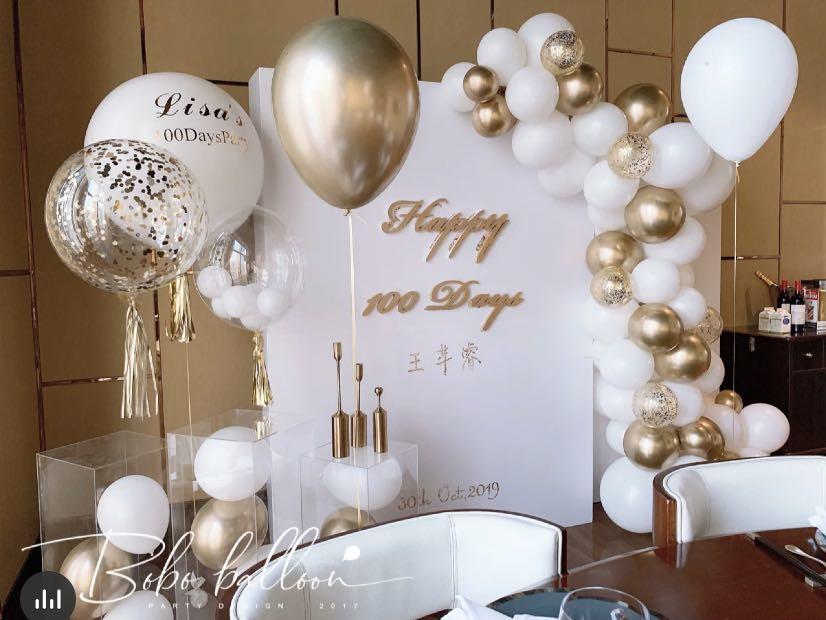 高级白金结婚纪念日布置