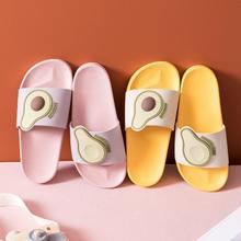 卡通水果软底室内防滑情侣拖鞋