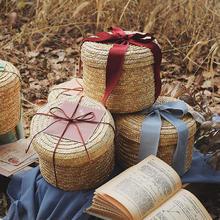 创意麦草手工编织礼盒