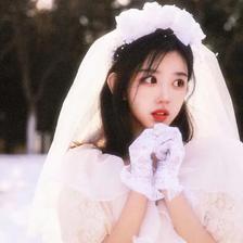 高清婚纱头像女生图片 精选女生高清头像图