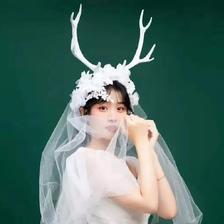 女孩婚纱头像 梦幻仙气满满的婚纱头像