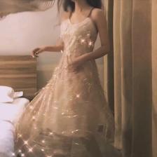 女生婚纱微信头像 仙气梦幻真人婚纱头像