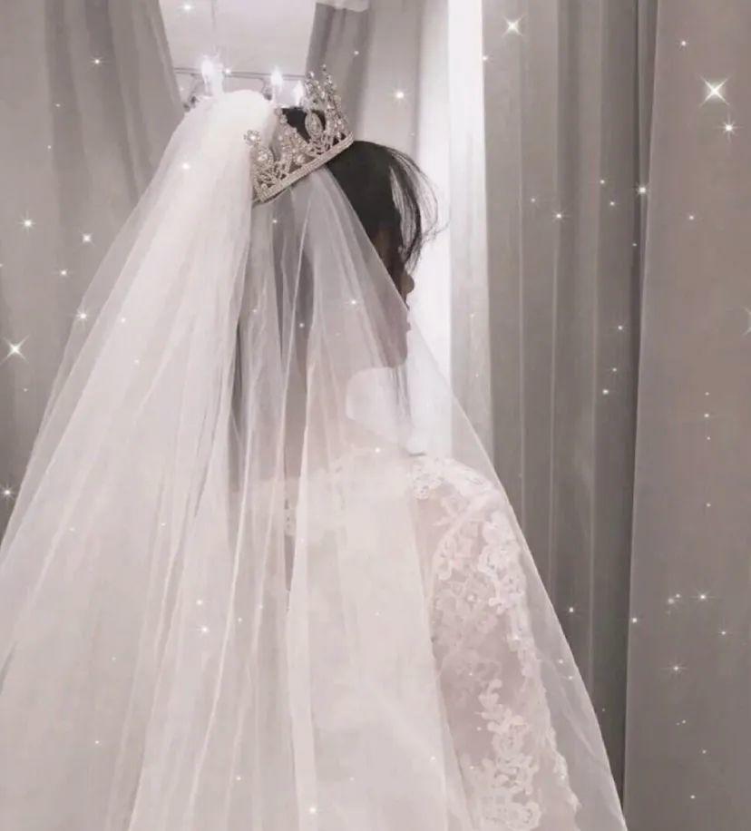 女生婚纱微信头像