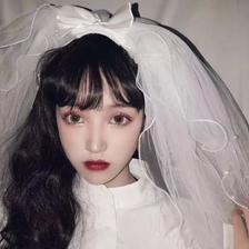 小女孩穿婚纱头像 仙气满满女生头像