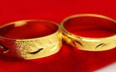 结婚可以买黄金戒指吗