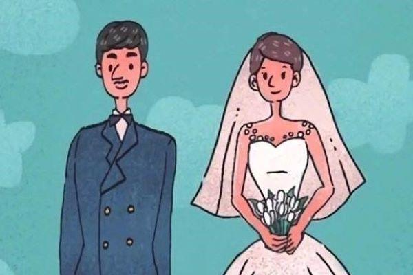 结婚动画图片