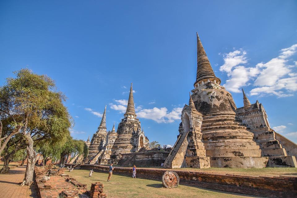 泰国大城府历史公园