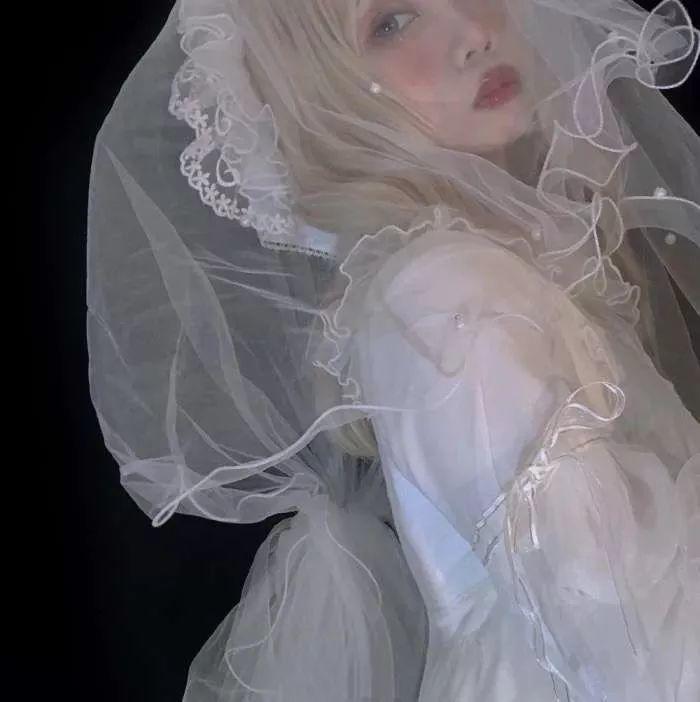 霸气婚纱头像