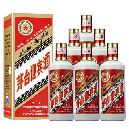 贵州茅台迎宾酒53度500ml