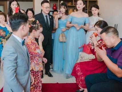 女儿出嫁当天娘家流程