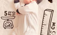 家里diy拍宝宝满月照 10分钟完成超级简单有创意