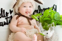 祝福宝宝健康成长的话