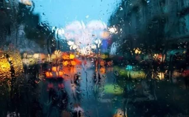 雨天摄影作品