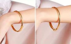 金手镯戴左右手的寓意 金手镯这样戴更好看