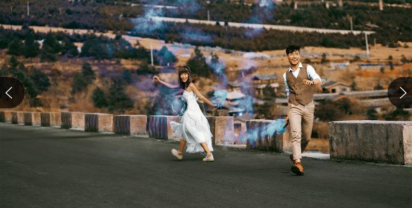 丽江致尚完美全球旅拍婚纱照