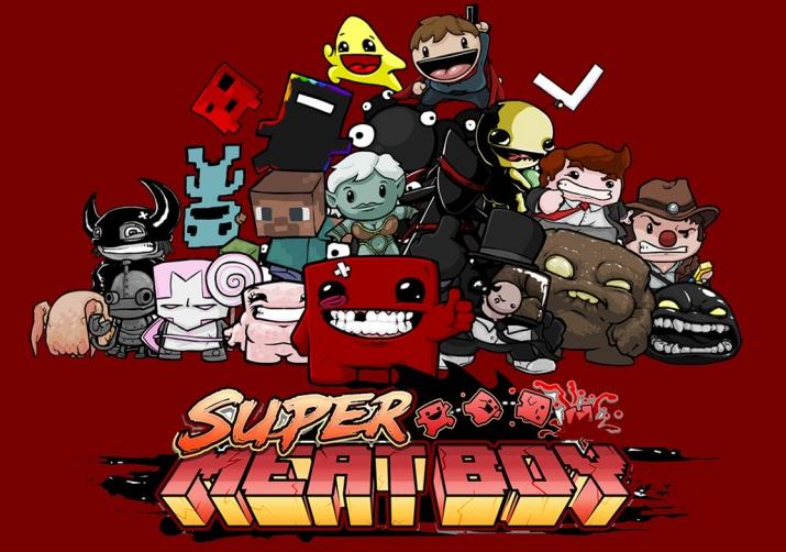 超级食肉男孩 Super Meat Boy