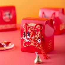中式喜结百年手提礼盒(含糖)