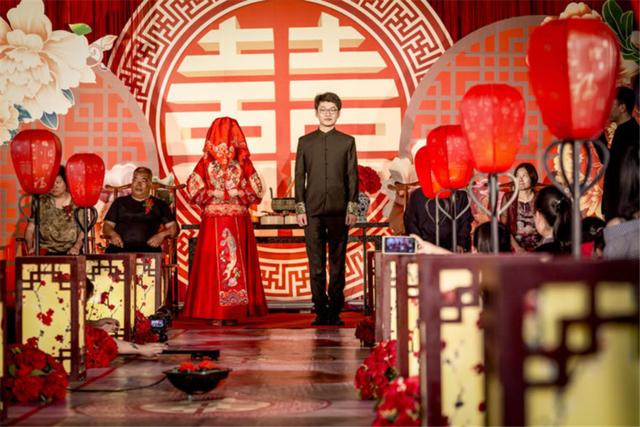 中式婚礼拜堂流程