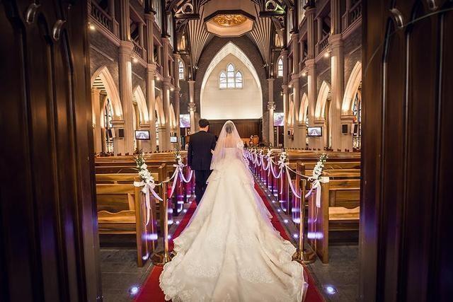 西式婚礼新人入场流程