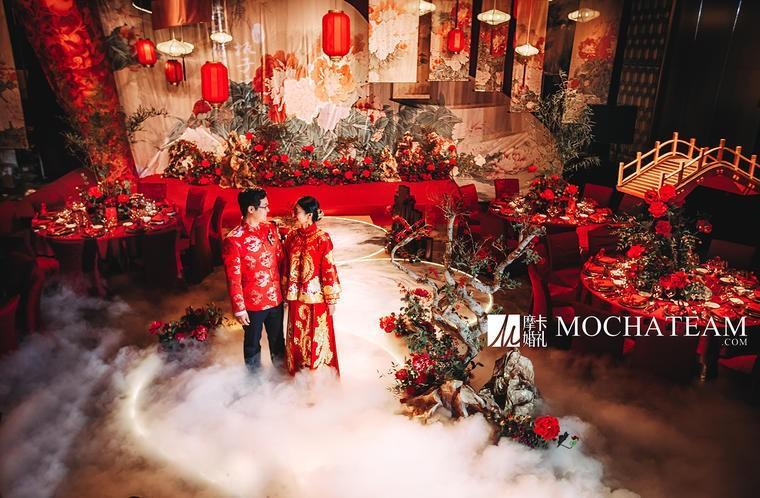 中式婚礼现场布置