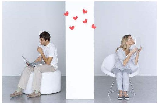 异地恋情侣聊天