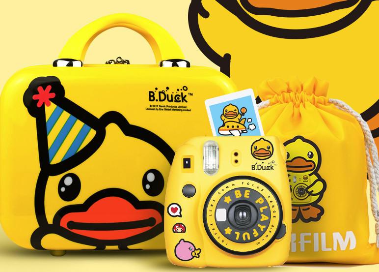 富士相机mini9小黄鸭版