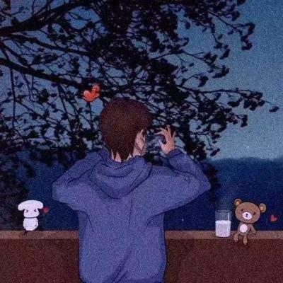 情侣头像卡通