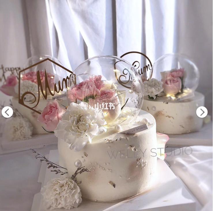 超美鲜花蛋糕