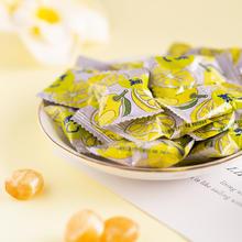 金冠C菓金桔柠檬味红茶柚子硬糖 500g约90颗